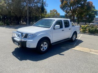 2015 Nissan Navara D40 S9 Silverline SE White 6 Speed Manual Utility.