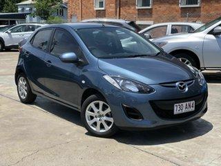 2014 Mazda 2 DE10Y2 MY14 Neo Sport Blue 4 Speed Automatic Hatchback.
