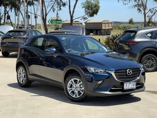 2020 Mazda CX-3 DK2W7A Maxx SKYACTIV-Drive FWD Sport Deep Crystal Blue 6 Speed Sports Automatic.