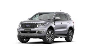 2021 Ford Everest UA II 2021.75MY Titanium Aluminium 10 Speed Sports Automatic SUV.
