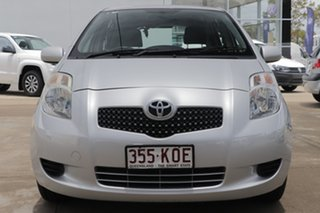 2007 Toyota Yaris NCP90R YR Silver 4 Speed Automatic Hatchback