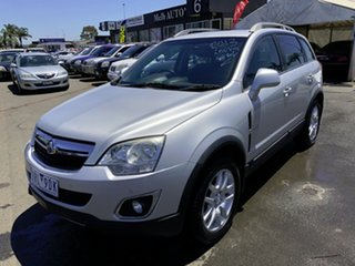 2013 Holden Captiva CG MY13 5 LT (FWD) Silver 6 Speed Automatic Wagon.