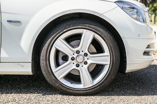 2010 Mercedes-Benz C-Class W204 MY10 C220 CDI Classic White 5 Speed Sports Automatic Wagon