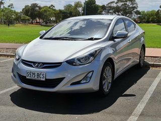 2013 Hyundai Elantra MD3 Trophy Silver 6 Speed Sports Automatic Sedan.