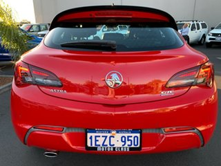 2015 Holden Astra PJ MY15.5 GTC Sport Red 6 Speed Automatic Hatchback.