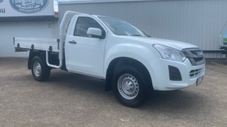 2017 Isuzu D-MAX MY17 SX White 6 Speed Sports Automatic Cab Chassis.