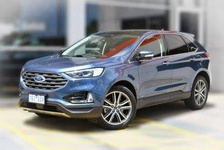 2019 Ford Endura CA 2019MY Titanium Blue 8 Speed Sports Automatic Wagon.