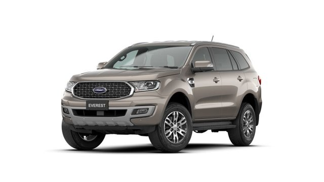 New Ford Everest UA II 2021.25MY Trend Clare, 2021 Ford Everest UA II 2021.25MY Trend Silver 10 Speed Sports Automatic SUV