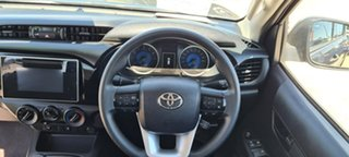 2019 Toyota Hilux TGN121R MY19 Workmate Graphite 5 Speed Manual Dual Cab.