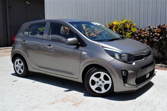 Used Kia Picanto JA MY18 S Cairns, 2018 Kia Picanto JA MY18 S Grey 4 Speed Automatic Hatchback