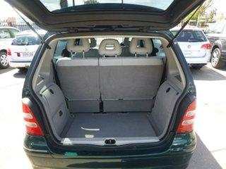 2001 Mercedes-Benz A-Class W168 A190 Elegance Green Manual Auto-Clutch Hatchback