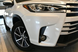 2017 Toyota Kluger GSU55R GXL (4x4) Crystal Pearl 6 Speed Automatic Wagon.