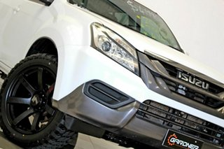 2016 Isuzu MU-X UC MY15.5 LS-M (4x4) White 5 Speed Automatic Wagon.