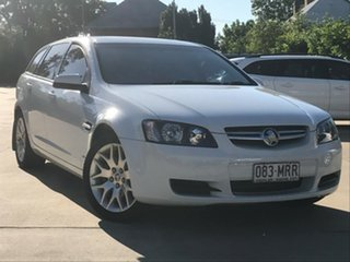 2009 Holden Commodore VE MY09.5 International Sportwagon White 4 Speed Automatic Wagon.