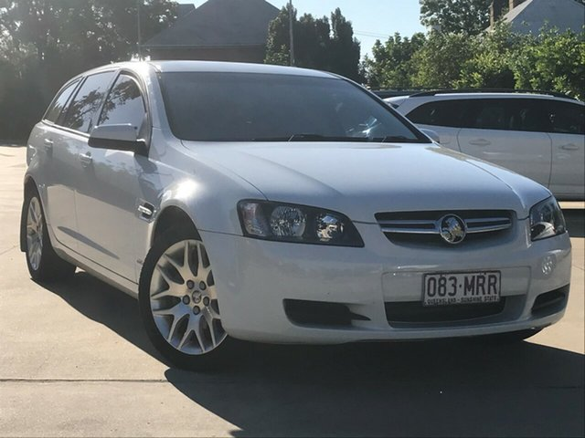Used Holden Commodore VE MY09.5 International Sportwagon Toowoomba, 2009 Holden Commodore VE MY09.5 International Sportwagon White 4 Speed Automatic Wagon