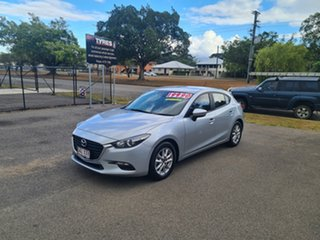 2017 Mazda 3 Neo Silver 6 Speed Automatic Hatchback.