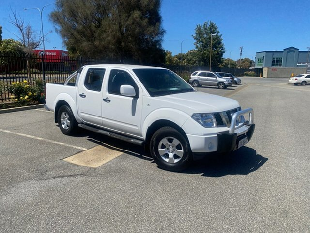Used Nissan Navara D40 S9 Silverline SE Mile End, 2015 Nissan Navara D40 S9 Silverline SE White 6 Speed Manual Utility