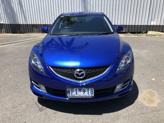 2008 Mazda 6 GH1051 Classic Blue 6 Speed Manual Hatchback