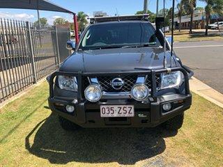 2009 Nissan Navara D40 ST-X (4x4) Charcoal 5 Speed Automatic Dual Cab Pick-up