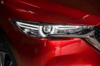 2020 Mazda CX-5 KF4WLA Akera SKYACTIV-Drive i-ACTIV AWD Red 6 Speed Sports Automatic Wagon.