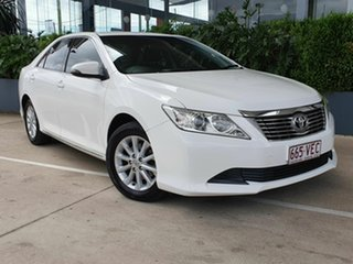 2014 Toyota Aurion GSV50R AT-X White 6 Speed Automatic Sedan.