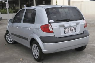2010 Hyundai Getz TB MY09 S Silver 5 Speed Manual Hatchback.