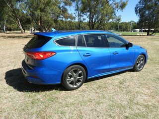 Ford Focus ST Line Blue 8 Speed Automatic Wagon