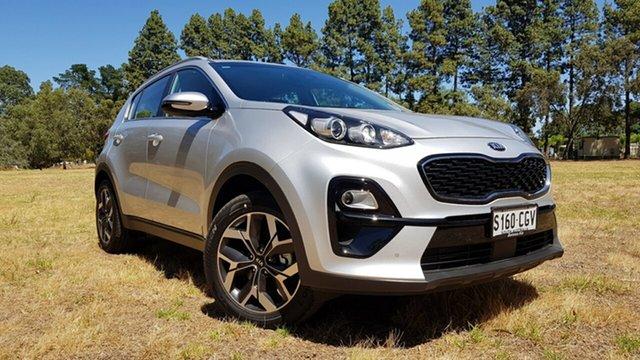 Demo Kia Sportage QL MY21 SX 2WD Nuriootpa, 2020 Kia Sportage QL MY21 SX 2WD Sparkling Silver 6 Speed Automatic Wagon
