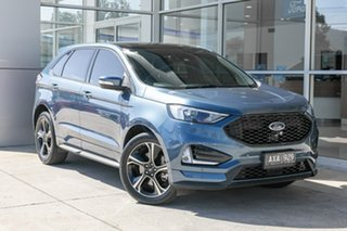 2018 Ford Endura CA 2019MY ST-Line Blue 8 Speed Sports Automatic Wagon.