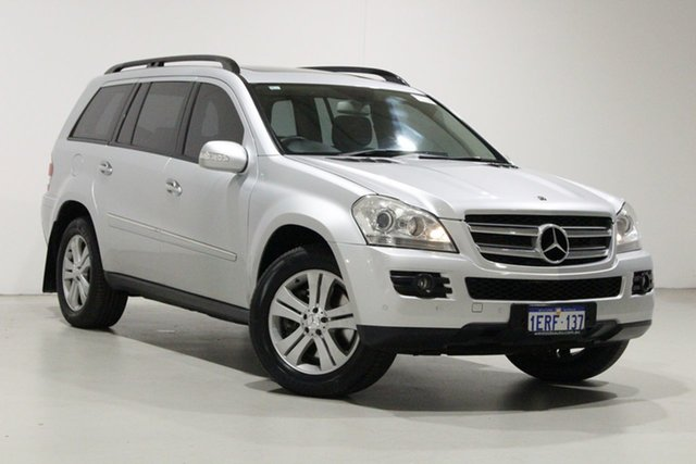 Used Mercedes-Benz GL320 CDI 164 320 CDI Bentley, 2007 Mercedes-Benz GL320 CDI 164 320 CDI Silver 7 Speed Automatic G-Tronic Wagon