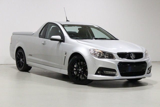 Used Holden Ute VF SS-V Redline Bentley, 2014 Holden Ute VF SS-V Redline Silver 6 Speed Automatic Utility