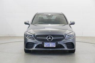 2019 Mercedes-Benz C-Class W205 809MY C200 9G-Tronic Grey 9 Speed Sports Automatic Sedan.
