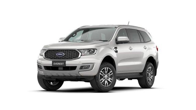 New Ford Everest UA II 2021.25MY Trend Bendigo, 2021 Ford Everest UA II 2021.25MY Trend White 6 Speed Sports Automatic SUV