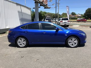2008 Mazda 6 GH1051 Classic Blue 6 Speed Manual Hatchback.