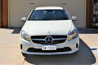 2017 Mercedes-Benz A-Class W176 808MY A180 D-CT White 7 Speed Sports Automatic Dual Clutch Hatchback.