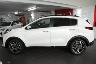 2020 Kia Sportage QL MY21 GT-Line AWD Snow White 6 Speed Sports Automatic Wagon