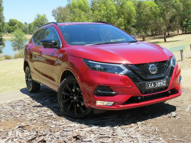 Demo Nissan Qashqai J11 Series 3 MY20 Midnight Edition X-tronic Morphett Vale, 2020 Nissan Qashqai J11 Series 3 MY20 Midnight Edition X-tronic Magnetic Red 1 Speed