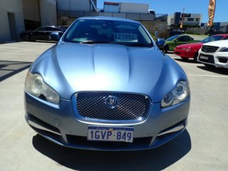 2008 Jaguar XF X250 Luxury Blue Ice 6 Speed Sports Automatic Sedan