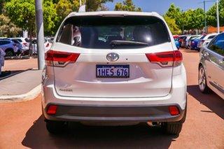2018 Toyota Kluger GSU50R GXL 2WD White 8 Speed Sports Automatic Wagon.