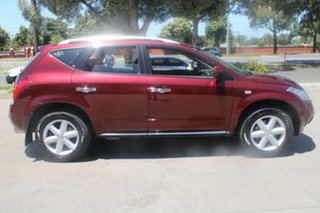 2009 Nissan Murano Z51 TI Maroon 6 Speed Constant Variable Wagon
