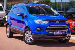 2014 Ford Ecosport BK Trend PwrShift Blue 6 Speed Sports Automatic Dual Clutch Wagon.