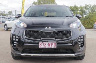 2016 Kia Sportage QL MY17 GT-Line AWD Cherry Black 6 Speed Sports Automatic Wagon.