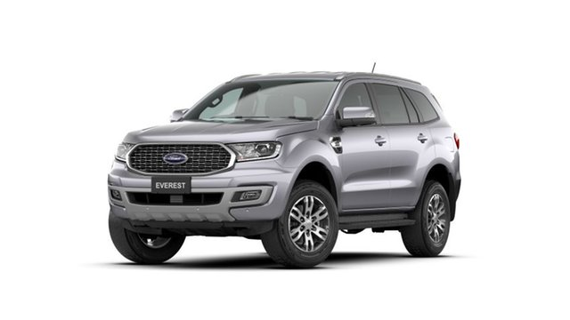 New Ford Everest UA II 2021.25MY Trend Midland, 2020 Ford Everest UA II 2021.25MY Trend Aluminium 6 Speed Sports Automatic SUV
