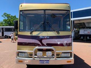 2006 Isuzu Outback Isuzu Flinders Gold Motor Home.