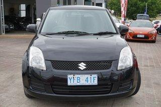 2007 Suzuki Swift RS415 Black 4 Speed Automatic Hatchback.