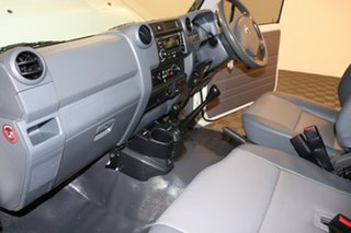 2013 Toyota Landcruiser VDJ79R MY13 Workmate French Vanilla 5 speed Manual Cab Chassis