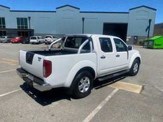 2015 Nissan Navara D40 S9 Silverline SE White 6 Speed Manual Utility