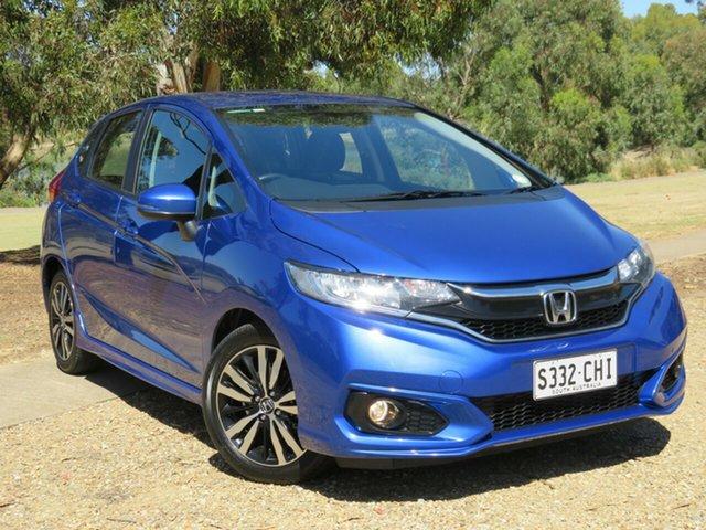 Used Honda Jazz GF MY18 VTi-L Morphett Vale, 2018 Honda Jazz GF MY18 VTi-L Blue 1 Speed Constant Variable Hatchback