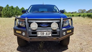 2012 Ford Ranger PX XL Aurora Blue 6 Speed Sports Automatic Utility.