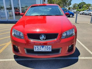 2011 Holden Commodore VE II SV6 Sportwagon Red 6 Speed Sports Automatic Wagon.
